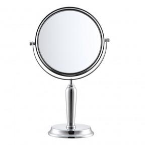 S751 胜鸿欧式7.5寸化妆镜 台式双面梳妆镜 反面5倍放大